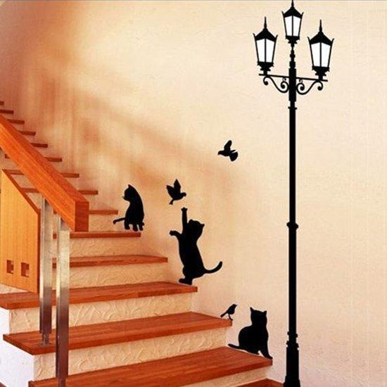 """Интерьерная наклейка на стену """"Кошки"""""""