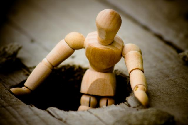 """Гибкая деревянная кукла """"Человек"""""""
