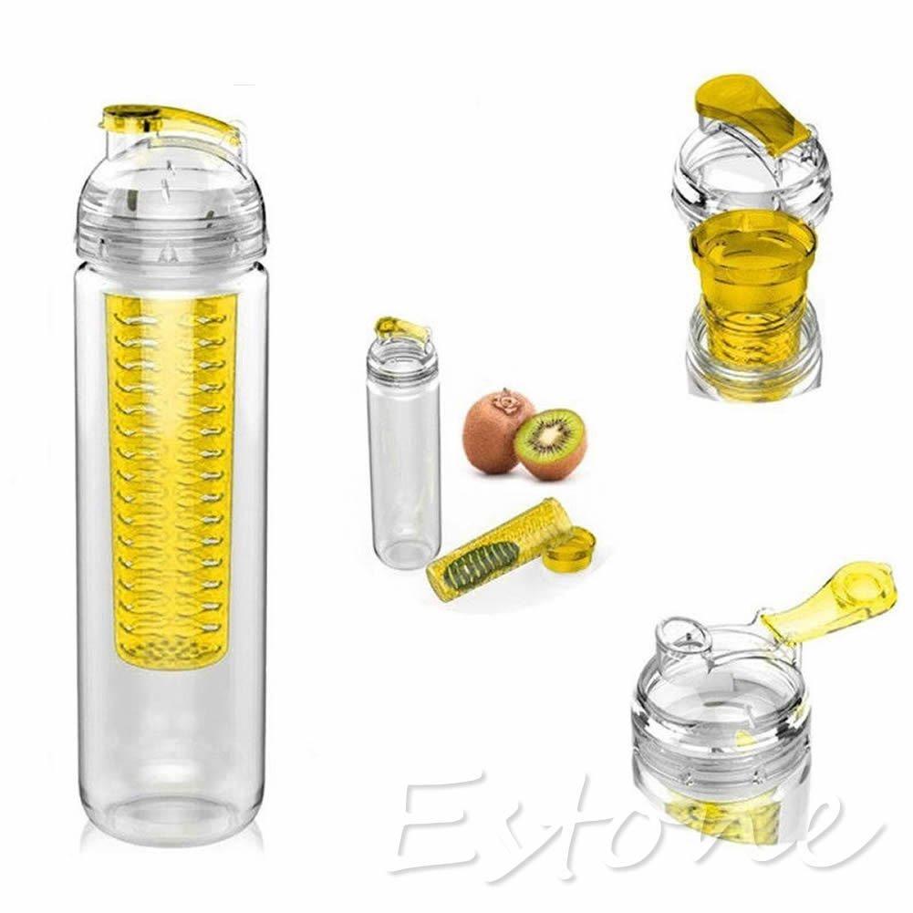 Бутылка со съемным отделом для фруктов