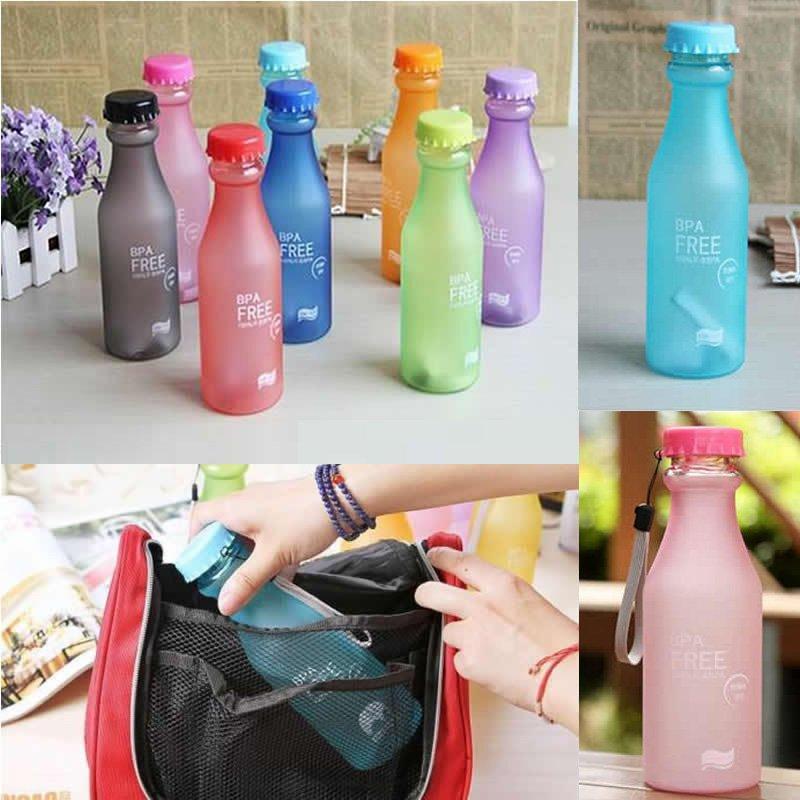 Многоразовая экологически чистая бутылка для воды, без BPA