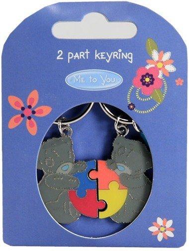 Двойной брелок для ключей Me to you