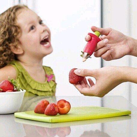 Нож для удаления сердцевины из плодов