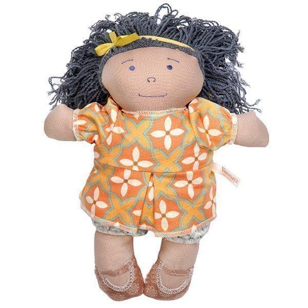 Игрушка мягконабивная VORONAYA кукла Ася