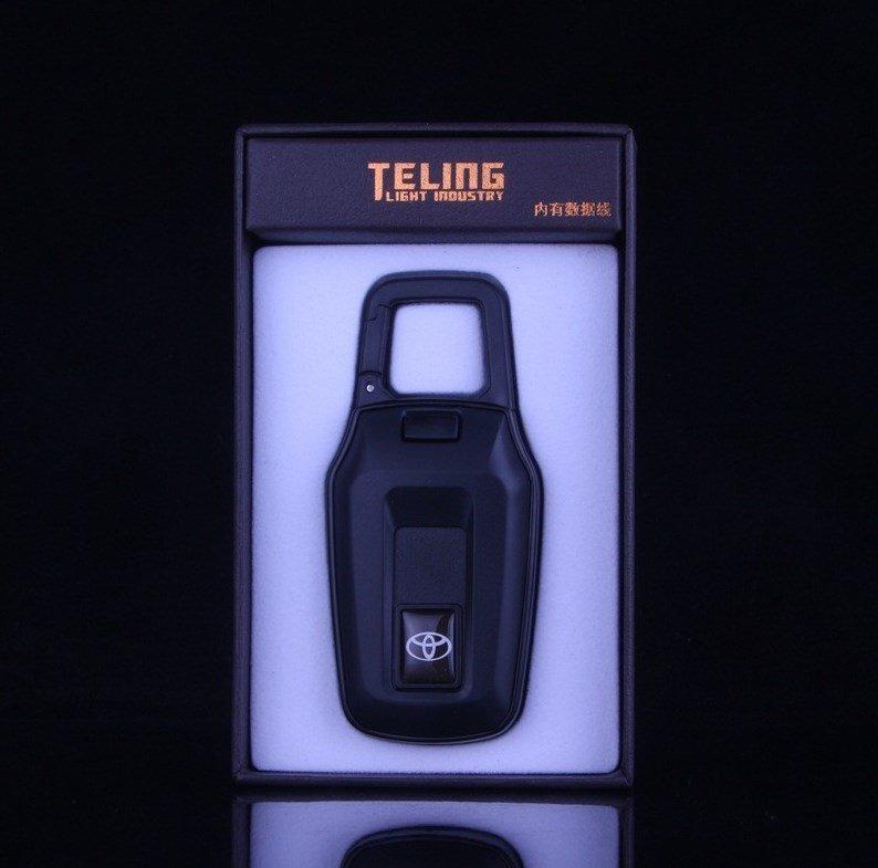 Teling USB Зажигалка выдвижной карабин