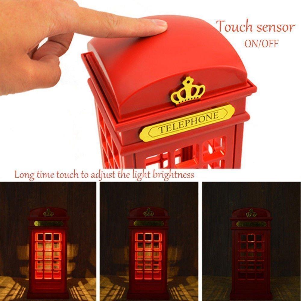 """Сенсорный светильник """"Лондонская телефонная будка"""""""