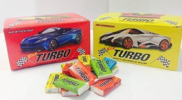 Ностальгические жвачки love is и Turbo