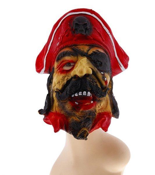 Карнавальная маска латекс Пират