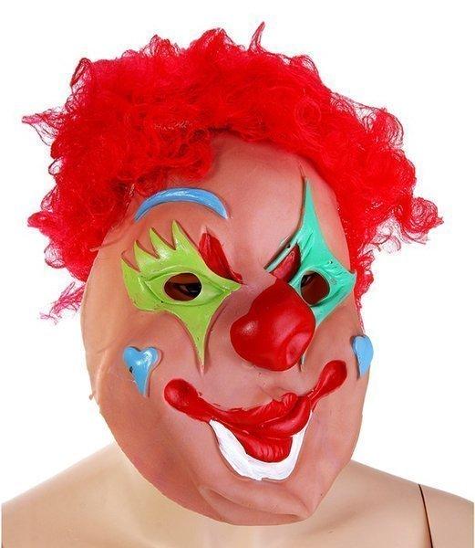 Карнавальная маска латекс Клоун