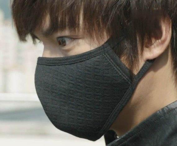 Velosiped sürmək üçün maska