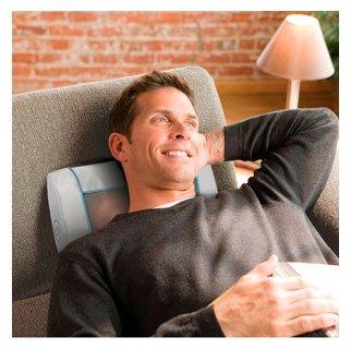 Массажная подушка шиацу для снятия стресса HoMedics