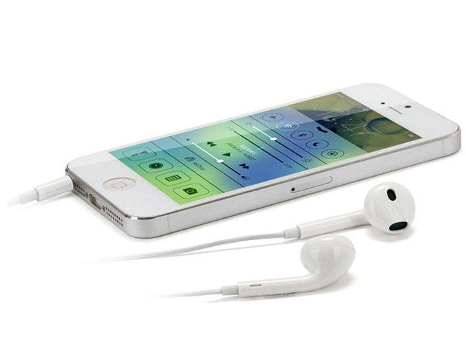 Наушники - вкладыши с микрофоном для IPad, iPhone, Ipod