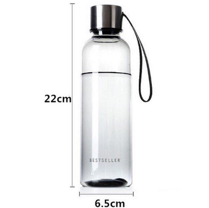 Портативная пластиковая бутылка для напитков 500мл