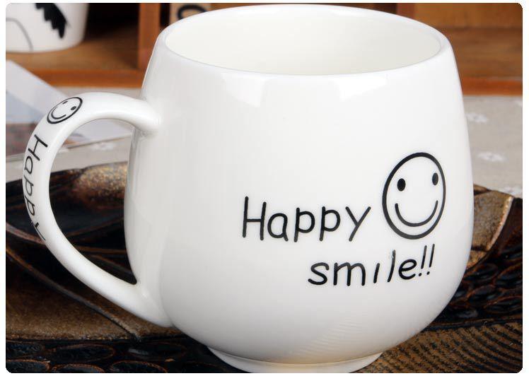 """Керамическая кружка """"Happy Smile"""""""