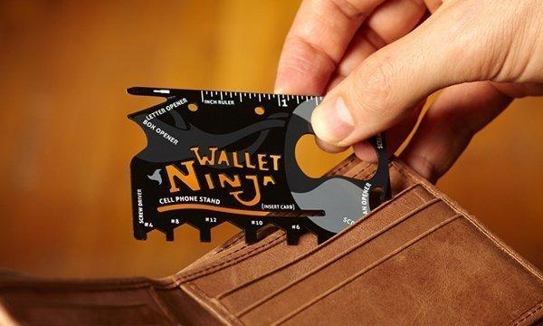 Мультитул Wallet Ninja 18 в 1