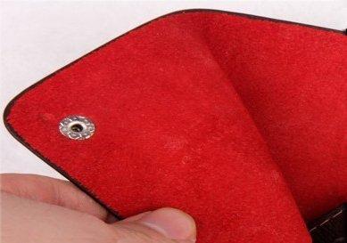 Органайзер для кредитных карт  из натуральной кожи