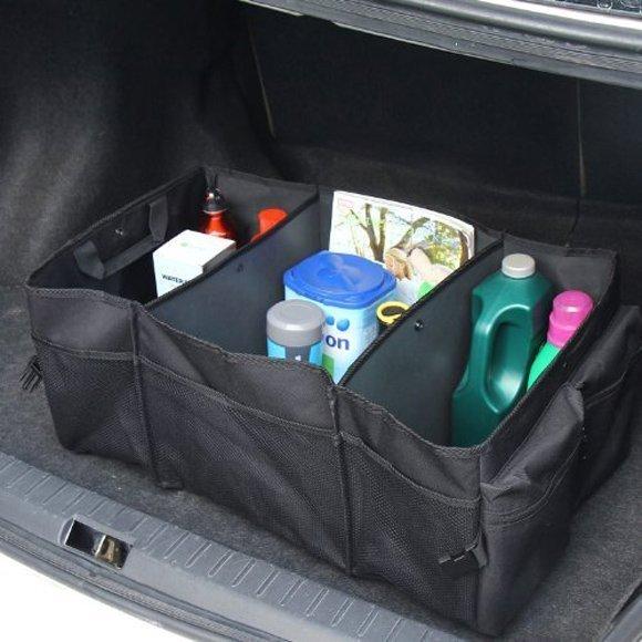 Складная сумка- органайзер в багажник автомобиля