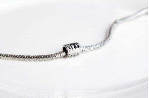 """Подвеска-шарма для Pandora """"Family"""" серебро покрытие 925 проба"""