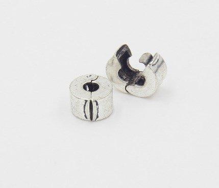 Разделительная бусина (стопер) для Pandora серебро покрытие 925