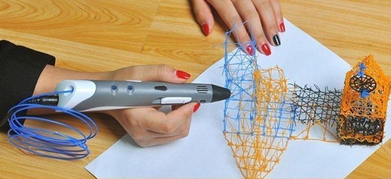 3D принтер в виде ручки