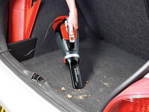 Автомобильный пылесос Black&Decker 12vdc 1220-xk