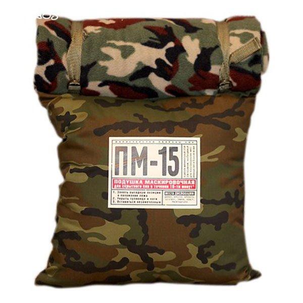 Подушка + плед ПМ-15 из флиса ручной работы