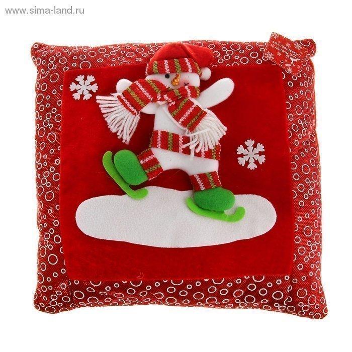 Мягкая подушка Новый Год