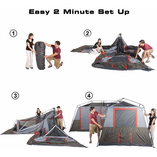 Палатка 16 x 16 Ozark trail 12 мест