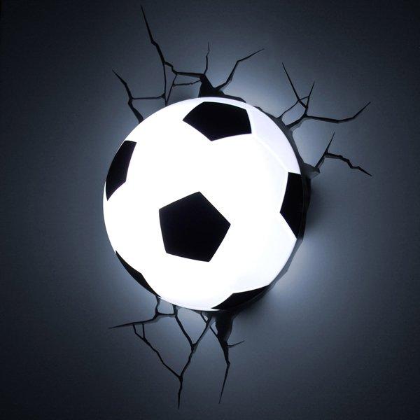 3D светильник Футбол