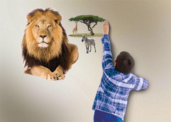 Интерактивный настенный проектор Uncle Milton «Африканское сафари»