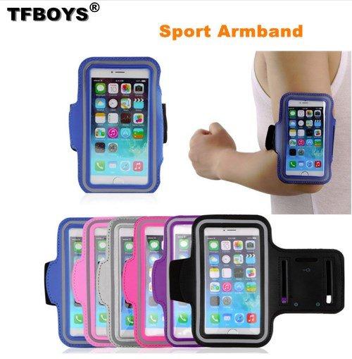 Спортивный наручный держатель для смартфонов