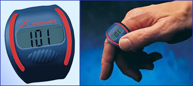 Счетчик кругов с секундомером для плавания Sportcount Chrono 100 (90000)