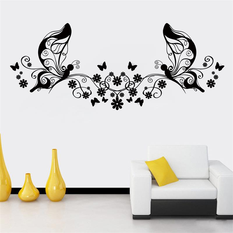 "Интерьерная наклейка на стену ""Wonderful Butterfly"""