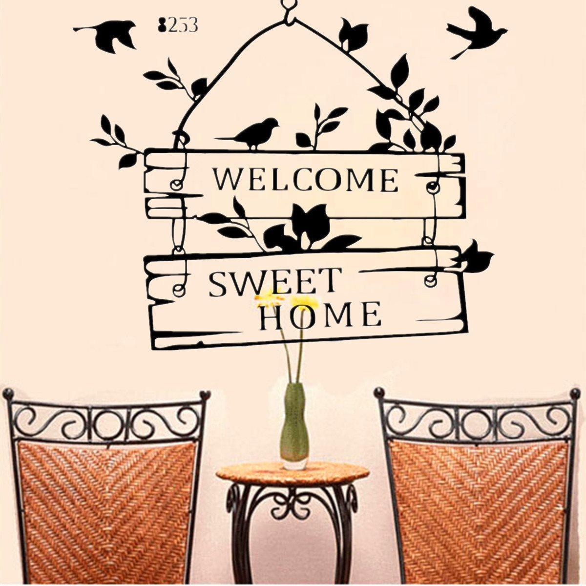 "Интерьерная наклейка на стену ""Welcome"""