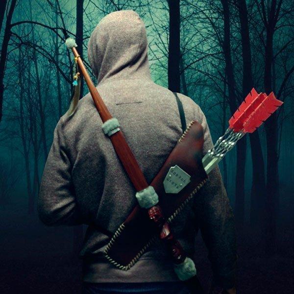 Шампура Колчан со стрелами Доброй охоты