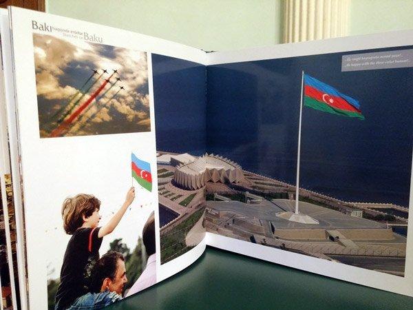 """Фото альбом """"Bakı haqqında 20 etüd"""""""