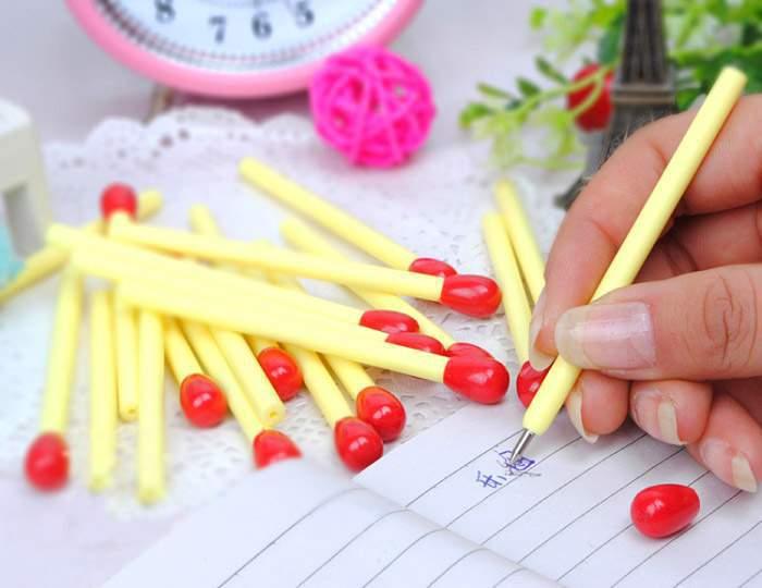 Ручки 20 спичек в коробке