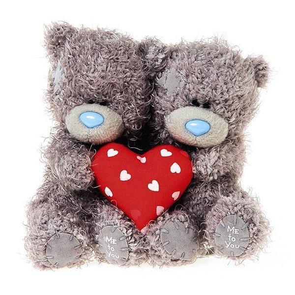 Мишка Me To You парочка с сердцем