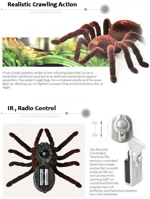 Радиоуправляемый тарантул