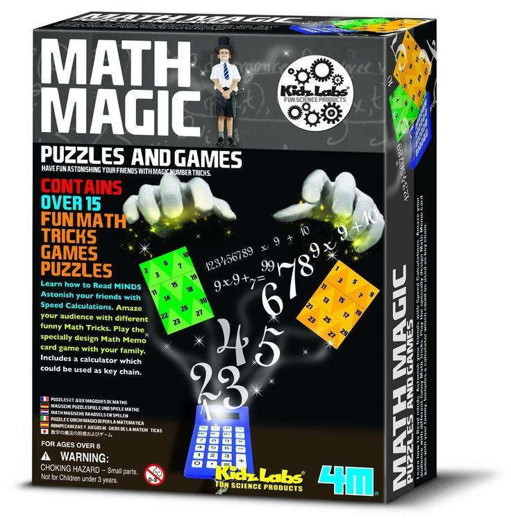 Детский конструктор Волшебная математика