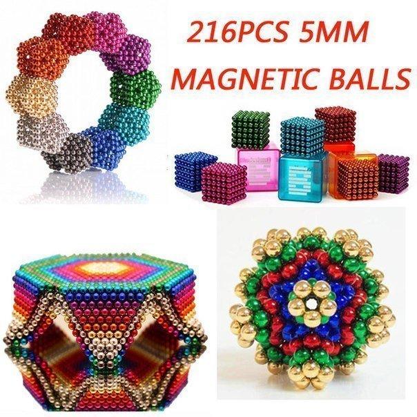 Неодимовый магнит головоломка 216 шт x 5 мм