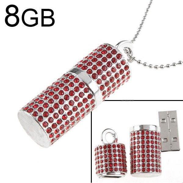 USB флешка 8GB Стразы
