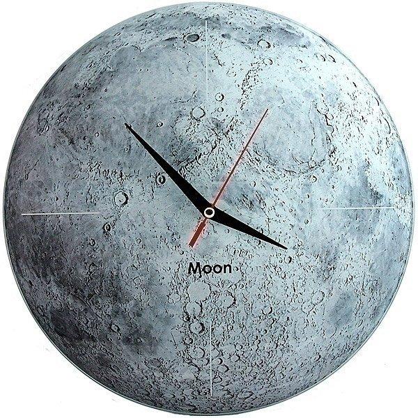Стеклянные часы Луна