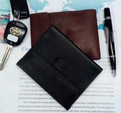 Кожаная обложка для паспорта и автодокументов Petek