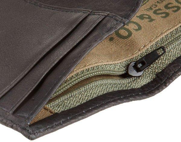 Мужской кожаный бумажник Levi´s Trifold