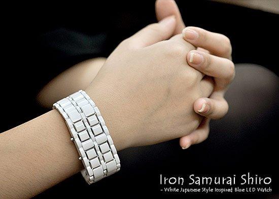Мужские наручные LED часы «Железный самурай»