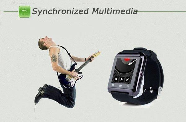 Bluetooth Smart часы для iPhone 4 / 4S / 5 / 5S Samsung S4 / 2 / 3 HTC Android
