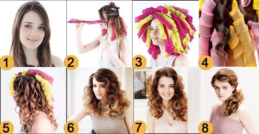 Как сделать волосы как на бигудях