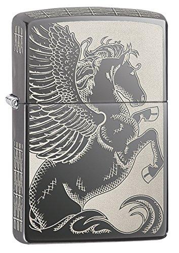 Зажигалка Zippo Pegasus двусторонняя